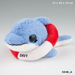 Snukis: Davy the Dolphin plysbamse