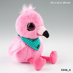 Snukis: Bibi the Flamingo plysbamse