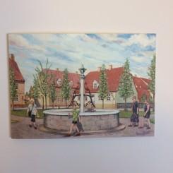 Mellem dobbelt kort - Kirkepladsen i Christiansfeld
