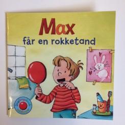 Minibog - Max får en rokketand