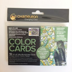 Chameleon Color Cards - Floral Patterns