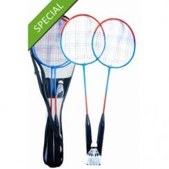 Badmintonsæt - 2 ketcher