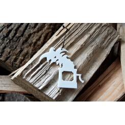 RYBORG Ornament - Den standhaftige tinsoldat trold