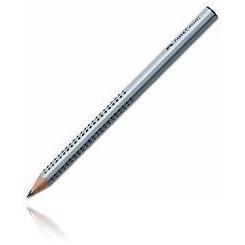 Faber Castell trekantet blyant jumbo, grå