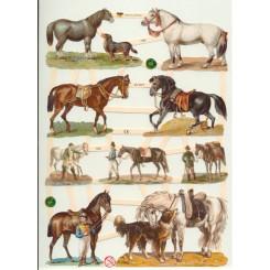 Glansbilleder heste / 3-7335
