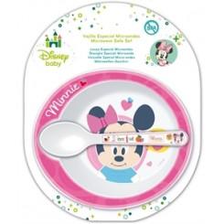 Spisesæt Minnie Mouse