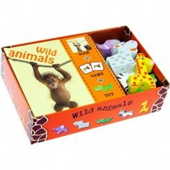 Indlæring via leg - Pegebog, memospil og dyr