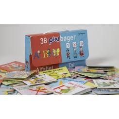 Pixi - Alfabet og tal, 38 pixibøger