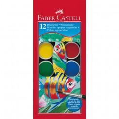 Faber Castell vandfarve, 12 farver