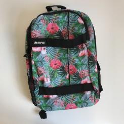 Unkeeper rygsæk - pink blomster