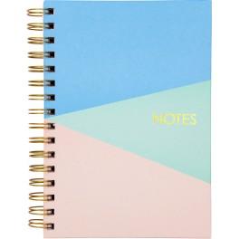 Notesbog, Mayland, trefarvet