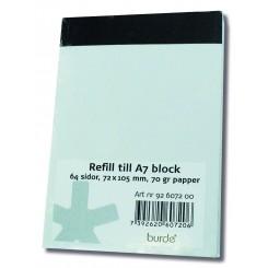 Refill til Journalistblok, 2 pk.