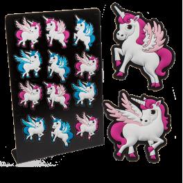Magnet - Enhjørning/unicorn - lyserød