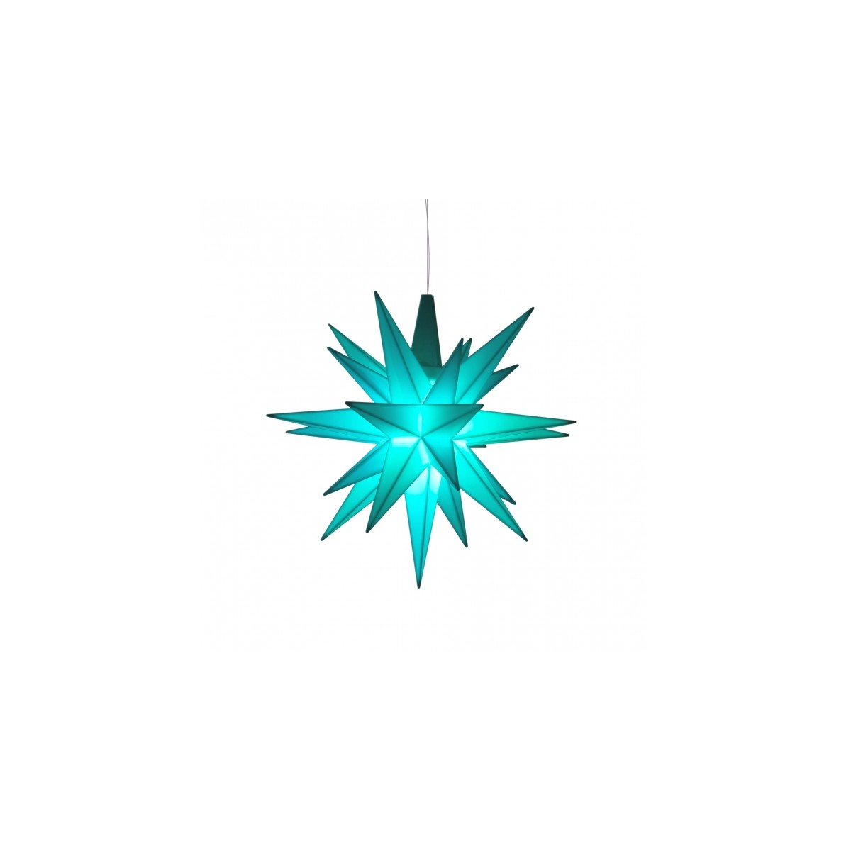 Strålende Adventsstjerne, plast 13cm IY-55