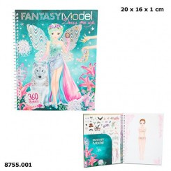 FANTASY model Dress Me Uo Stickerbog