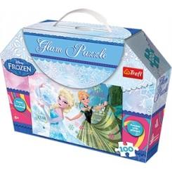 Puslespil Disney Frost, 100 brikker