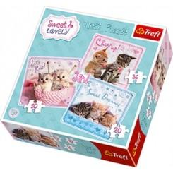 Puslespil Sweet&Lovely - 3i1