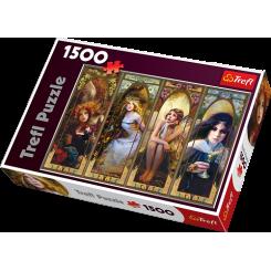 Puslespil Fantasy Collage, 1500 brikker