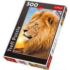 Puslespil Løve, 500 brikker