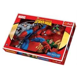 Puslespil Spiderman, we got him, 500 brikker