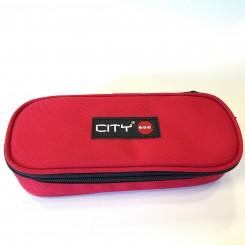 Penalhus CITY Oval - Rød