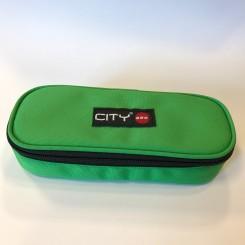 Penalhus CITY Oval - Grøn