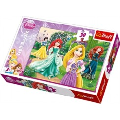 Puslespil Disney prinsesser