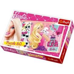 Puslespil Barbie, 60 brikker