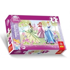 Puslespil Disney 3 prinsesser, 60 brikker