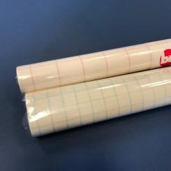 Bogbind trans. plast, selvklæbende, 33cm x 2m.