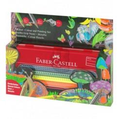 Faber Castell GRIP farveblyanter 10 stk.
