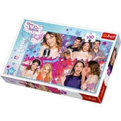Puslespil Disney Violetta, 100 brikker