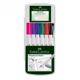 Faber Castell Whiteboard marker rød/sort + elefantsnot