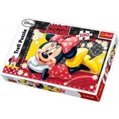 Puslespil Disney Minnie Mouse, 100 brikker