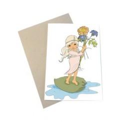 Mouse & Pen kort A6 - Tommelise