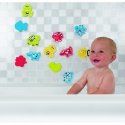 Stickers med dyr til badet