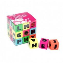 Viskelæder med bogstaver