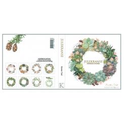 Julekranse - 8 forskellige dobbeltkort