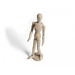 Mannequin mand træ 30cm
