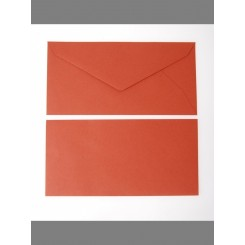 Kuverter 25stk, terracotta C6