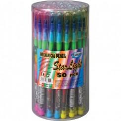 Farvepencil med udskiftelige farvestifter