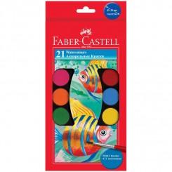 Faber Castell vandfarve, 21 farver
