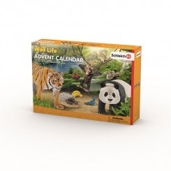Schleich jungle julekalender 2017