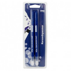 Kryds og tværs penne 2 stk.