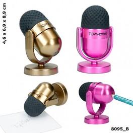 TOPModel Mikrofon viskelæder & blyantspidser
