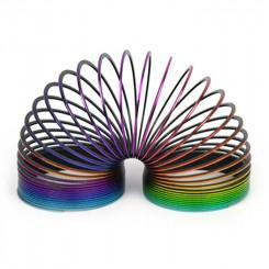 Spiral i plastik, rainbow