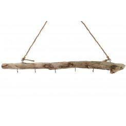 Ophæng træ m/kroge L 80 cm