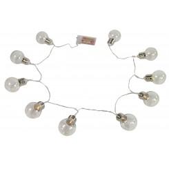 Pærer på snor lyskæde LED, stor