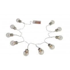 Pærer på snor lyskæde LED, lille