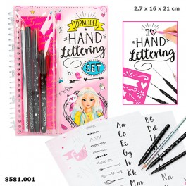 "TOPModel ""Hand-Lettering"" Sæt"